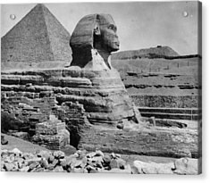 The Great Sphinx Acrylic Print by Hulton Archive