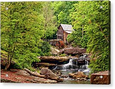 The Grist Mill Acrylic Print