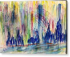 The Holy City Acrylic Print by Tom Atkins