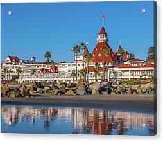 The Hotel Del Coronado San Diego Acrylic Print