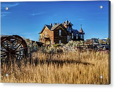 Acrylic Print featuring the photograph The House by Pete Federico