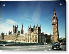 The Houses Of Parliament & Big Ben Acrylic Print by Cezary Zarebski Photogrpahy