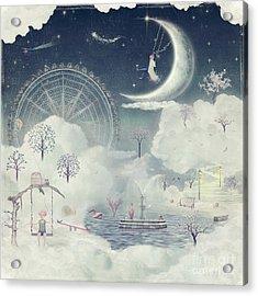 The Illustration Shows The Fantastic Acrylic Print by Natalia maroz