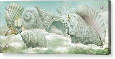 The Island Of Giant Shells Acrylic Print