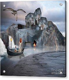 The Journey To Atlantis Acrylic Print