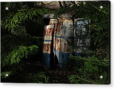 The Junk Yard Acrylic Print