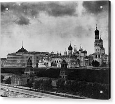 The Kremlin Acrylic Print by Topical Press Agency