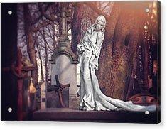 The Lady Of Powazki Acrylic Print
