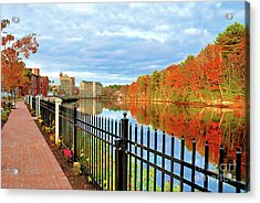 Acrylic Print featuring the photograph The Lamprey River by Debbie Stahre