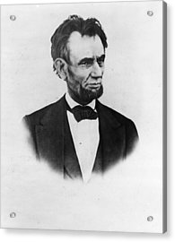 The Last Lincoln Acrylic Print by Henry F. Warren