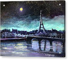 The Lights Of Paris Acrylic Print