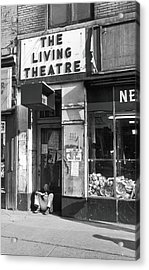 The Living Theatre, Closed Acrylic Print by Fred W. McDarrah