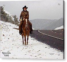 The Lone Ranger Acrylic Print