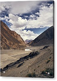 Acrylic Print featuring the photograph The Long Journey by Whitney Goodey