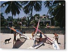 The Lure Of Lamu Acrylic Print by Slim Aarons