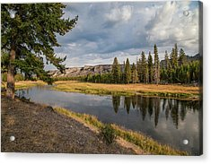 Acrylic Print featuring the photograph The Madison River At West Yellowstone by Lon Dittrick