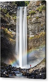Acrylic Print featuring the photograph The Majestic Brandywine Falls by Pierre Leclerc Photography