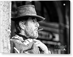 The Man With No Name In Venice Acrylic Print