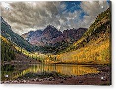 The Maroon Bells - Aspen, Colorado Acrylic Print