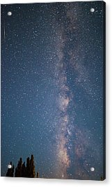 Acrylic Print featuring the photograph The Milky Way In Arizona by Mark Duehmig