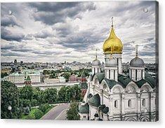 The Moscow Kremlin Acrylic Print by Yongyuan Dai