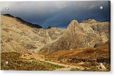 The Mountains Of Glenbrittle Acrylic Print