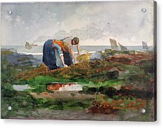 The Mussel Gatherers - Digital Remastered Edition Acrylic Print