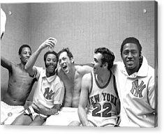 The New York Knicks Starting Five -- Acrylic Print