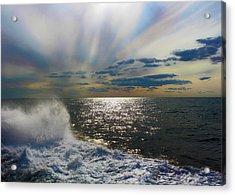 The Ocean Stirs The Heart Acrylic Print