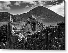 Murrisk Abbey At The Bottom Of Croagh Patrick Acrylic Print