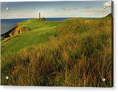 The Old Head Golf Links, Kinsale Acrylic Print by E J Carr