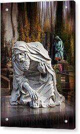 The Old Man Of Powazki Cemetery Warsaw  Acrylic Print