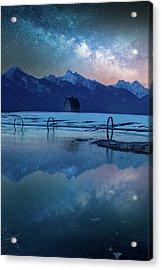 The Original Montana Dream /  Ronan, Montana Acrylic Print