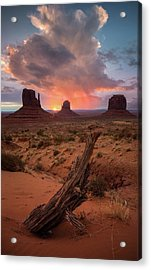 Acrylic Print featuring the photograph The Original Old West // Monument Valley, Arizona  by Nicholas Parker