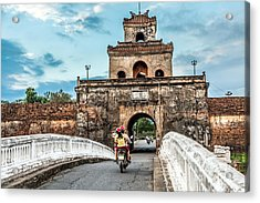 The Palace Gate, Imperial Palace Moat Acrylic Print