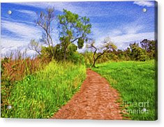 The Path That Lies Ahead Rendition II Acrylic Print