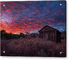 Acrylic Print featuring the photograph The Perfect Sunset by Edgars Erglis