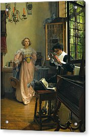 The Persistent Reader Acrylic Print