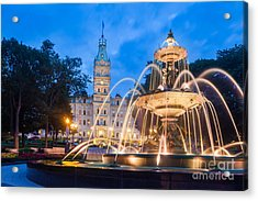 The Quebec Parliament Building And The Acrylic Print