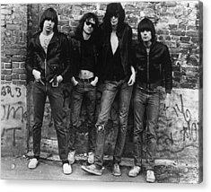 The Ramones Acrylic Print by Roberta Bayley