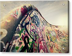 The Ramp Acrylic Print by Ppampicture