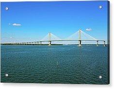 The Ravenel Bridge Acrylic Print