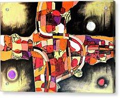 The Reeping Acrylic Print