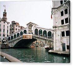 The Rialto Bridge  Acrylic Print