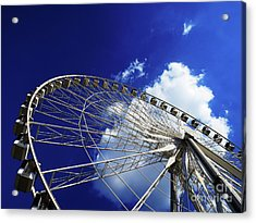 The Ride To Acrophobia Acrylic Print