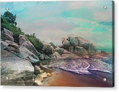 The Rising Tide Montage Acrylic Print