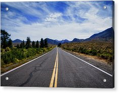 The Road Best Traveled Acrylic Print