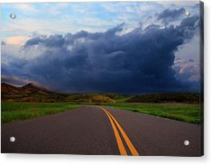Acrylic Print featuring the photograph The Road by John Rodrigues