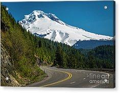 The Road To Mt. Hood Acrylic Print