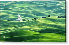 The Rolling Fields Of Palouse Acrylic Print